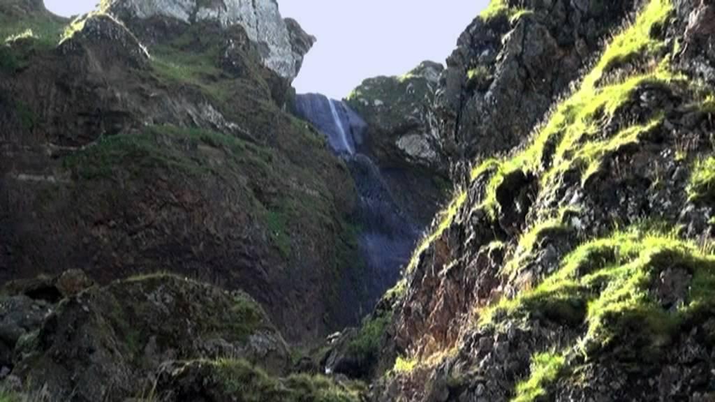 rando en auvergne cascade de la dore mont dore sancy proche de la source de la dordogne