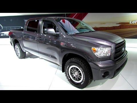 2013 Toyota Tundra TRD Rock Warrior Crew Max - Walkaround - 2013 Detroit Auto Show