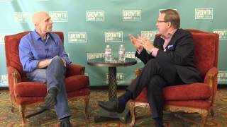 "Randy komisar interviewed on his book ""the monk and the riddle"""