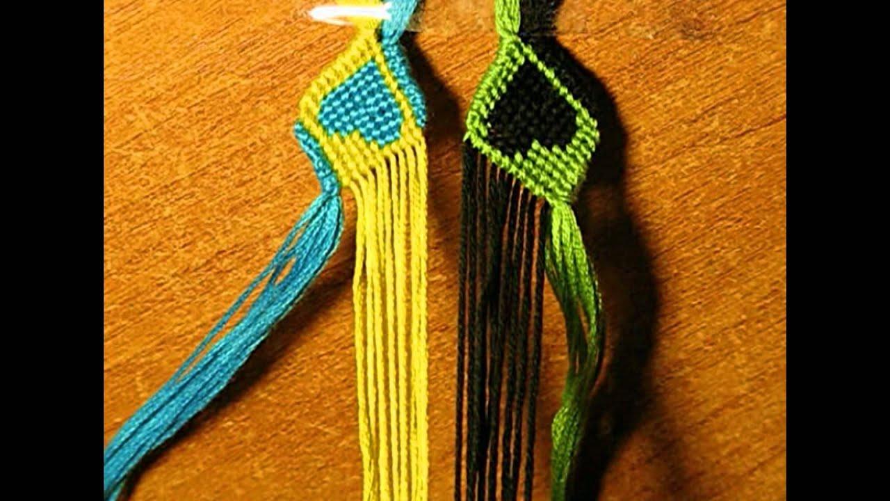 фенечки схема стрелочки