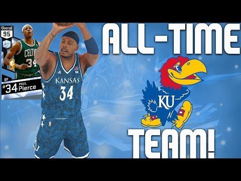 2baf64ea6ab All-Time Kansas Jayhawks Team - Diamond Paul Pierce   Diamond Wilt  Chamberlain - NBA