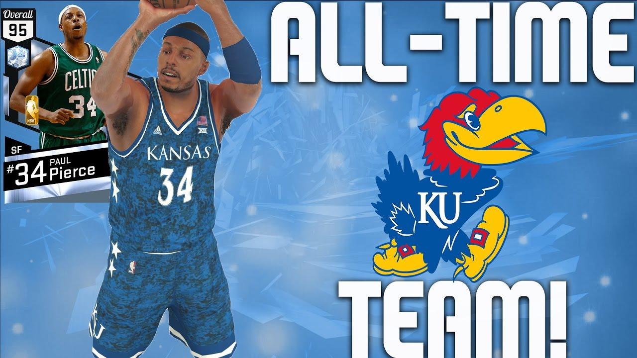 newest collection 3f3cd cb13b All-Time Kansas Jayhawks Team - Diamond Paul Pierce & Diamond Wilt  Chamberlain - NBA 2K17 MyTeam