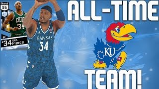 All-time kansas jayhawks team - diamond paul pierce & diamond wilt chamberlain - nba 2k17 myteam
