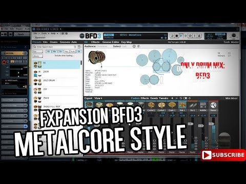 FXpansion BFD3 - Drum Mix And Audio Demo