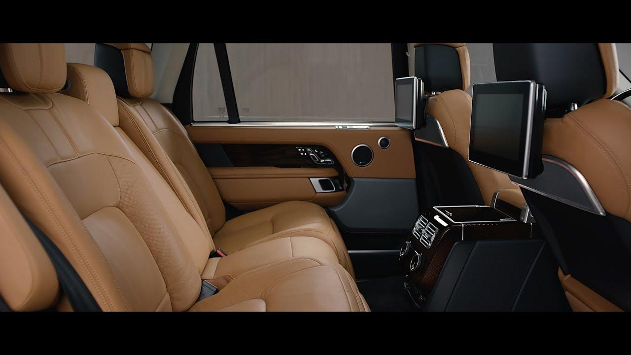 2018 Range Rover Rear Executive Seats