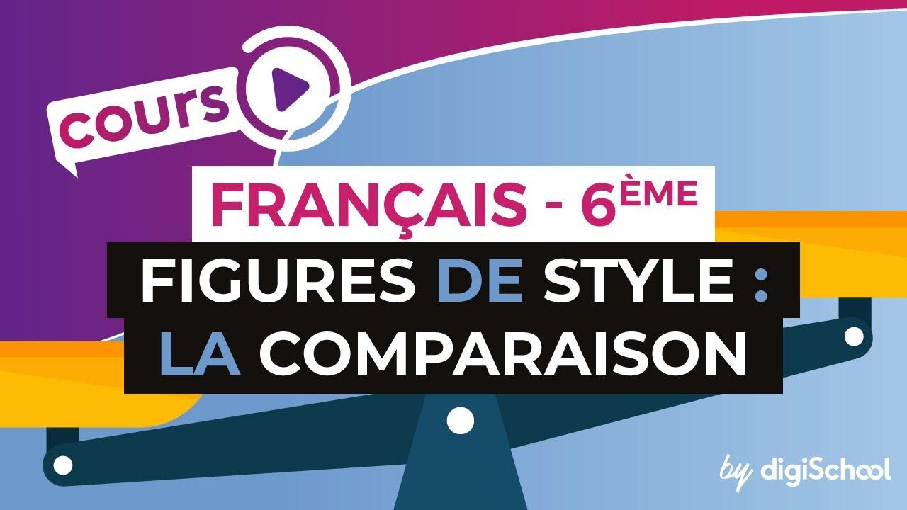 Cours De Francais 6eme Les Figures De Style La Comparaison Youtube