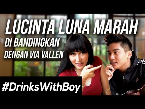 Lucinta Luna LEMPAR MINUMAN ke Boy William! | #DrinksWithBoy Eps. 4