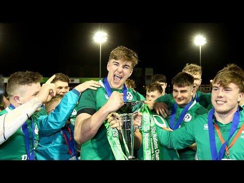 Ireland U20s ready to build on Six Nations success
