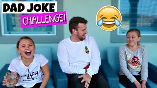 TRY NOT TO LAUGH CHALLENGE! DAD JOKES!