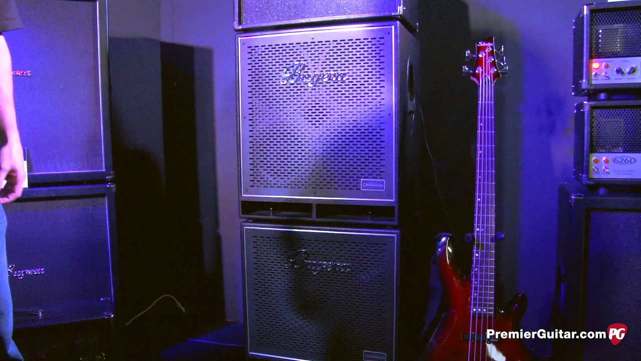 NAMM '13 - Bugera Amps BN410T & BN115T Bass Cabinets - YouTube