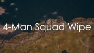 Xbox PUBG Highlight   4-Man Squad Wipe