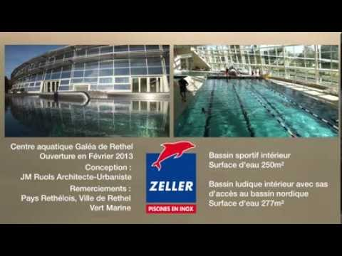 Zeller france piscines en inox bassins en inox du centre for Construction piscine inox