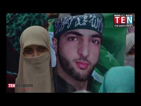 Kashmir Shutdown for Hizbul Terrorist Burhan Wani's death anniversary