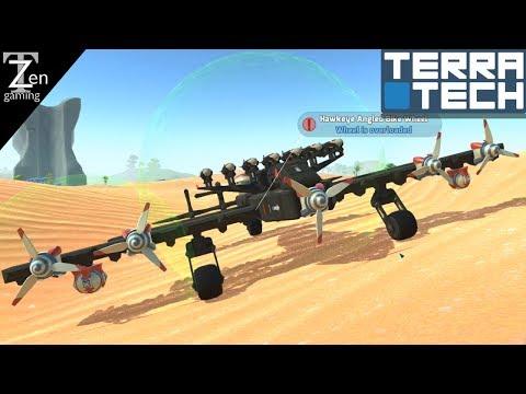 TerraTech HAWKEYE SCOUT PLANE   TerraTech PILLAR BIOME EP43 (Season 3)