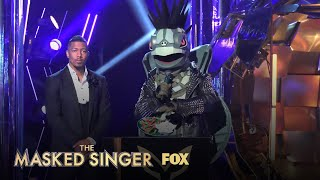 Turtle Presents His Meal Clue | Season 3 Ep. 14 | THE MASKED SINGER