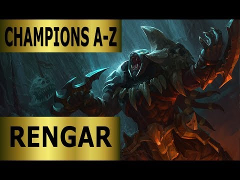 Champions A-Z Rengar Jungle Guide | Full Gameplay [German] League of Legends by DPoR LP