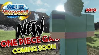 [NEW] ONE PIECE GAME COMING OUT SOON! | One Piece New World | ROBLOX