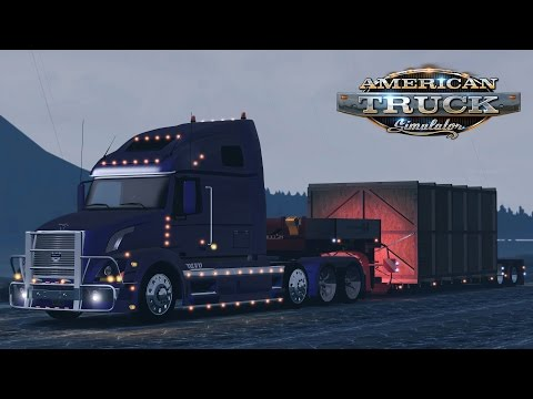 American Truck Simulator: Alaska - Nome to Fairbanks - Over the Ice Roads