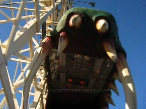 Dragon Coaster Front Row Seat on-ride POV Rye's Playland Park