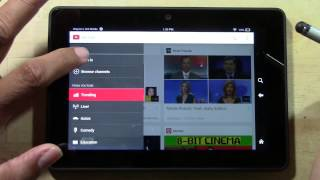 kindle fire hdx how to get the official youtube app   h2techvideos