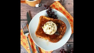 Pumpkin Pie French Toast. TRY IT! EASY!