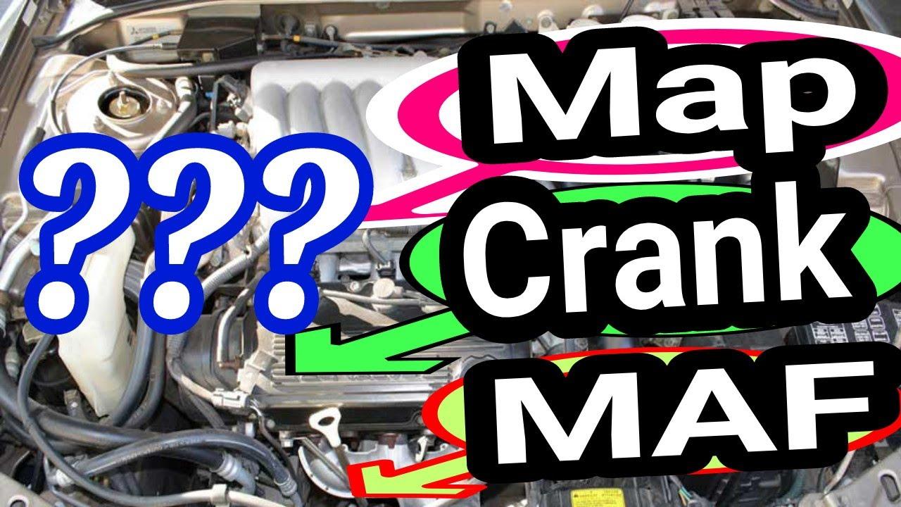 Mechanic tips 101, How to find any part on the car  Map sensor Maf Crank  sensor cam sensor