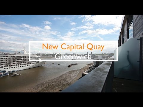 Walking Tour of New Capital Quay Development Greenwich, SE10