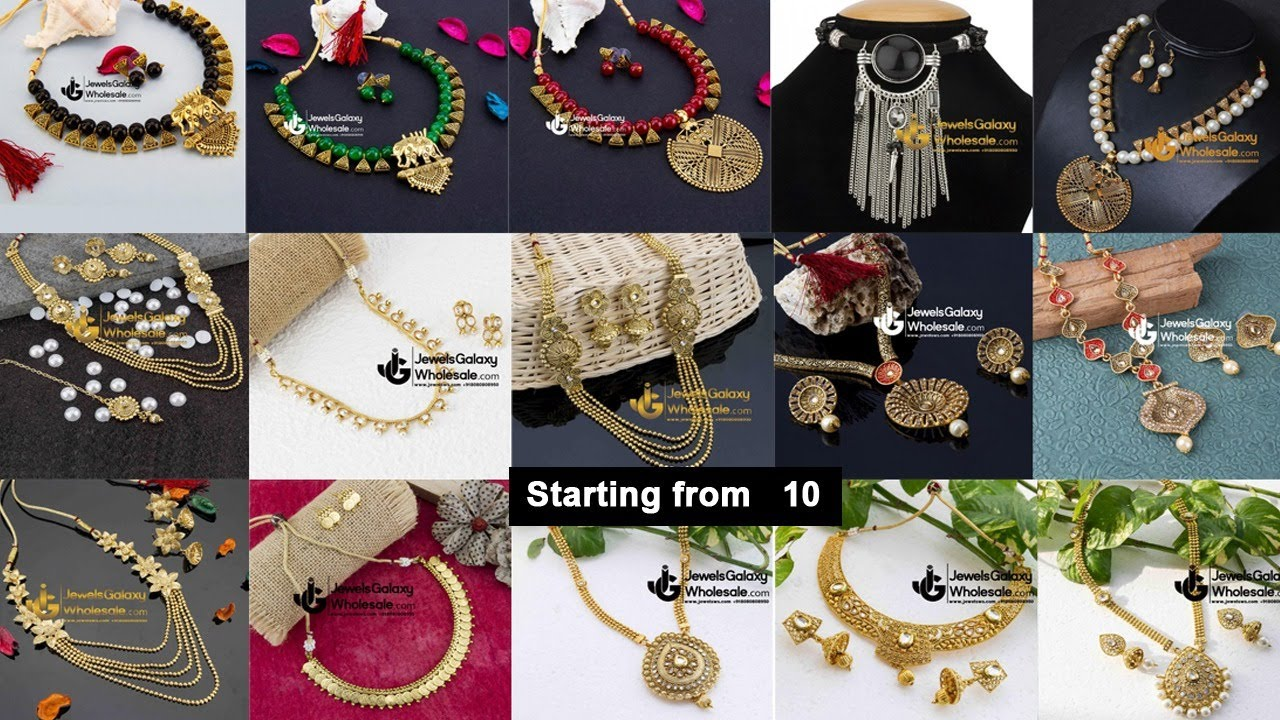 Cheapest Jewellery Necklace High Quality Sadar Bazaar Wholesale| Jewellery Sets| Arihant Bangles