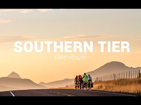 SOUTHERN TIER BIKE ROUTE - The Best Winter Cycling Route in the United States