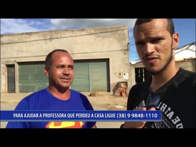 SOLIDARIEDADE COM A CASA QUEIMADA DE PROFESSORA