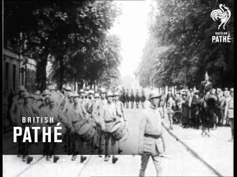 Germans Salute The Tricolour  (1920)