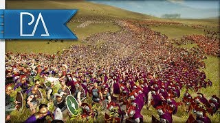 AI ONLY BATTLE - Rome vs Carthage - Total War: Rome 2