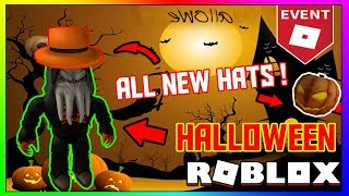 NEW ROBLOX HALLOWEEN EVENT! ALL THE HATS + GEARS YOU CAN GET! | Roblox Halloween Event 2018