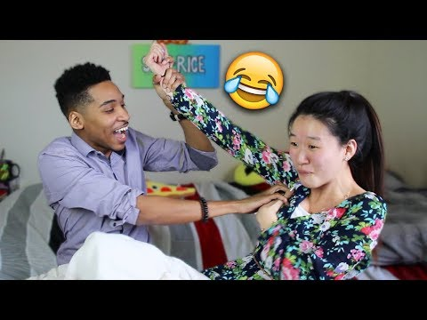 Tickle Challenge! *Don't Spit Out The Water!* | SLICE n RICE 🍕🍚