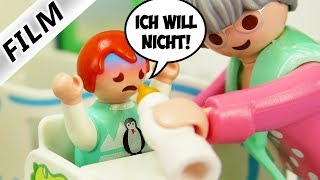 Playmobil Film deutsch   EMMA VON OMA ADOPTIERT - Entführung aus Kita   Kinderfilm Familie Vogel