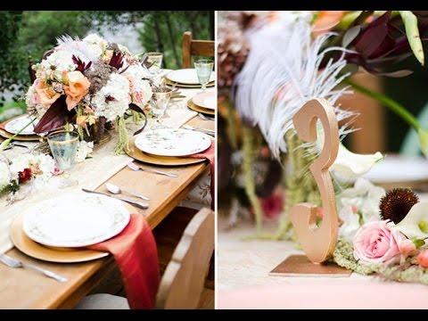 Art Deco Wedding Centerpieces