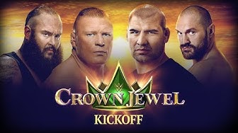 WWE Crown Jewel Kickoff: October 31, 2019
