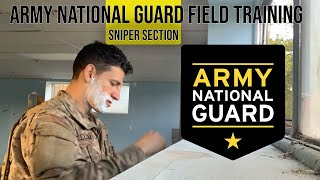 The Life of an Army National Guard Soldier | 4 day Field Training | Flight attendant |Sniper Section