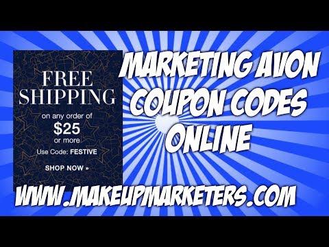 Marketing Avon Coupon Codes Online