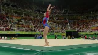 Daria Spiridonova 2016 Olympics QF FX