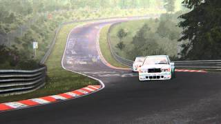 Assetto Corsa - BMW M3 E30 DTM vs Mercedes Benz 190E Evo II