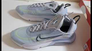 NIKE AIR MAX 2090 REVIEW & UNBOXING (ICE BLUE)