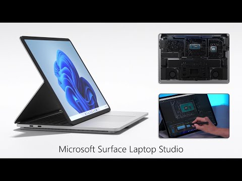 Surface Laptop Studio Hands-on Review