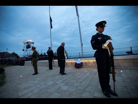 Gallipoli Dawn Service 2015
