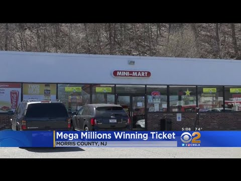 Winning Ticket For Mega Millions Jackpot Sold In New Jersey