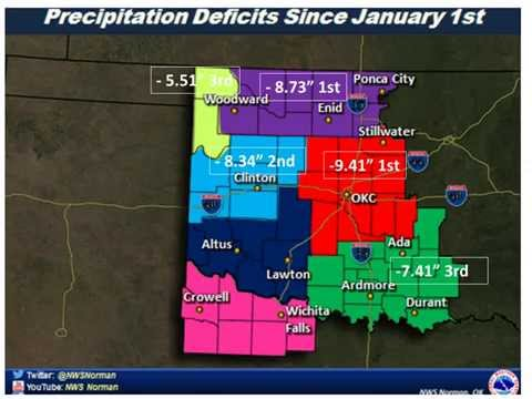 National Weather Service Norman Drought Briefing May 22nd