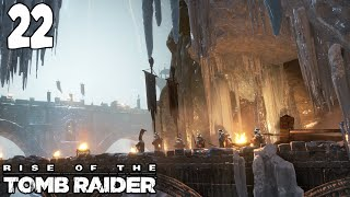 Let's Play ► Rise of the Tomb Raider - Part 22 - Catapults  [Blind][XBOX One Gameplay]