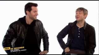 MAX 60 Seconds: Richard Armitage (The Hobbit) (Cinemax)
