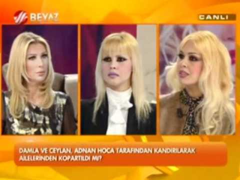 Şok! Damla Pamir'den, Beyaz Tv'ye cevaplar 2 (Adnan Oktar)