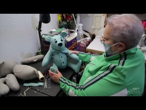 Seamstress' bears comfort families of COVID-19 victims